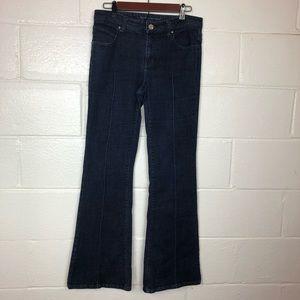 Banana Republic flare jeans size 8